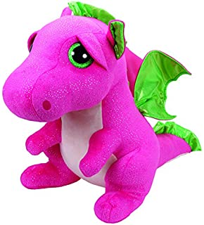 TY Beanie Boos Darla The Pink Dragon Plush Large