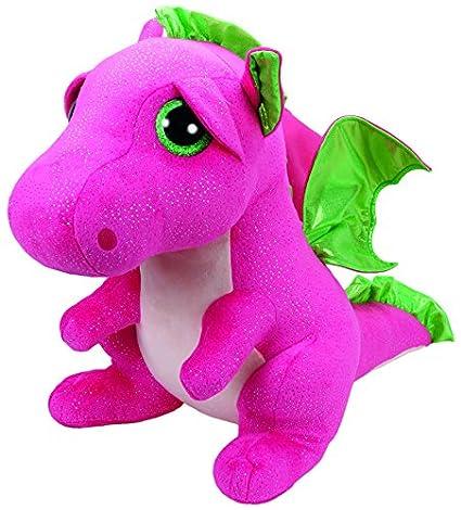 Ty - Beanie Boos Darla, dragón, 40 cm, Color Rosa (United Labels Ibérica 37071TY): Amazon.es: Juguetes y juegos
