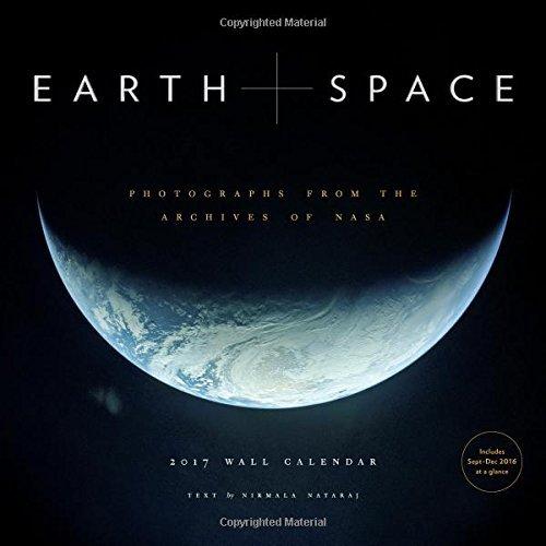 Earth and Space 2017 Wall Calendar by Nirmala Nataraj (2016-07-26)