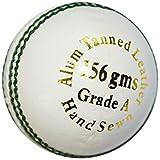 Kookaburra Gold King Cricket Ball, White