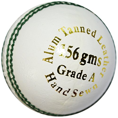 Kookaburra Gold King Cricket Ball, White – cricket Review