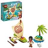 LEGO  Disney 43170 Aventura Oceánica de Moana (46 piezas)