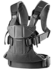 BABYBJÖRN Baby Carrier One (Black, Cotton Mix)