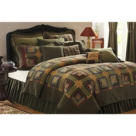 Tea Cabin 3 Piece Queen Quilt Set
