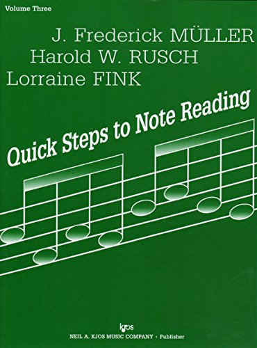 71VN - Quick Steps to Note Reading - Volume Three - - Reading Note Violin