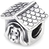 Pandora Sterling Silver Dog Charm 790592EN27
