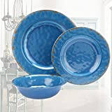outdoor dining ware - Dinnerware Plate and Bowls Set - Yinshine 12pcs Outdoor Camping Dinner Plates Set, Service for 4
