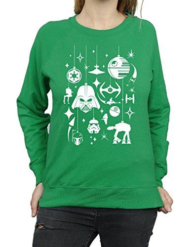 Verde Entrenamiento De Mujer Irlandés Wars Camisa Christmas Decorations Star xwHSO0vf