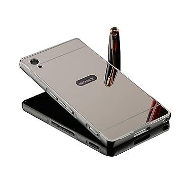 Sony Xperia Z3 Espejo Móvil - Shin Etop Lujo Espejo Mirror ...