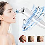 #1: Blackhead Remover Pore Vacuum Acne Blackhead Suction Removal with 4 Multi-function Probe for Microdermabrasion Docer
