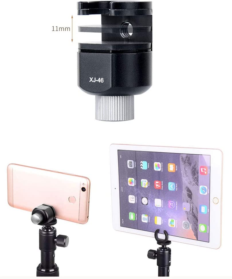 3In1 Extension Selfie Stick and Mini Tripod Stand with Phone Holder for Smartphone DSLR and Mirrorless Camera for Travel and Work