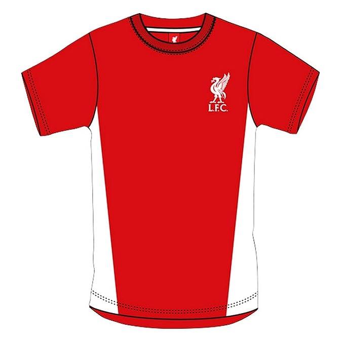 Liverpool FC - Camiseta Oficial de Manga Corta Hombre Caballero - Fútbol/Deporte (Extra Grande (XL)/Rojo): Amazon.es: Ropa y accesorios