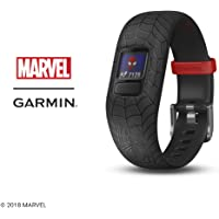 Garmin 010-01909-37 vivofit jr. 2, Spider-Man, Black