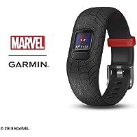 Garmin Vívofit Jr 2, Kids Fitness/Activity Tracker, 1-Year Battery Life, Adjustable Band, Marvel Spider-Man, Black