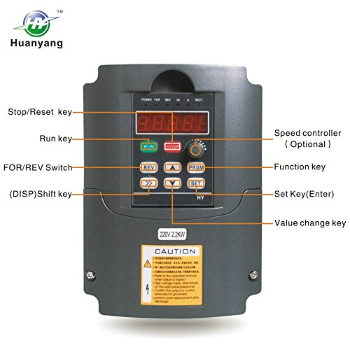 VFD 220V 2 2KW 3hp Variable Frequency Drive CNC VFD Motor - Import