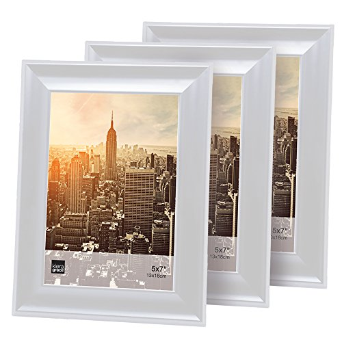 5x7 white picture frame - 6