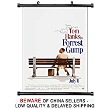 Forrest Gump Tom Hanks Movie Fabric Wall Scroll Poster (32x47) Inches