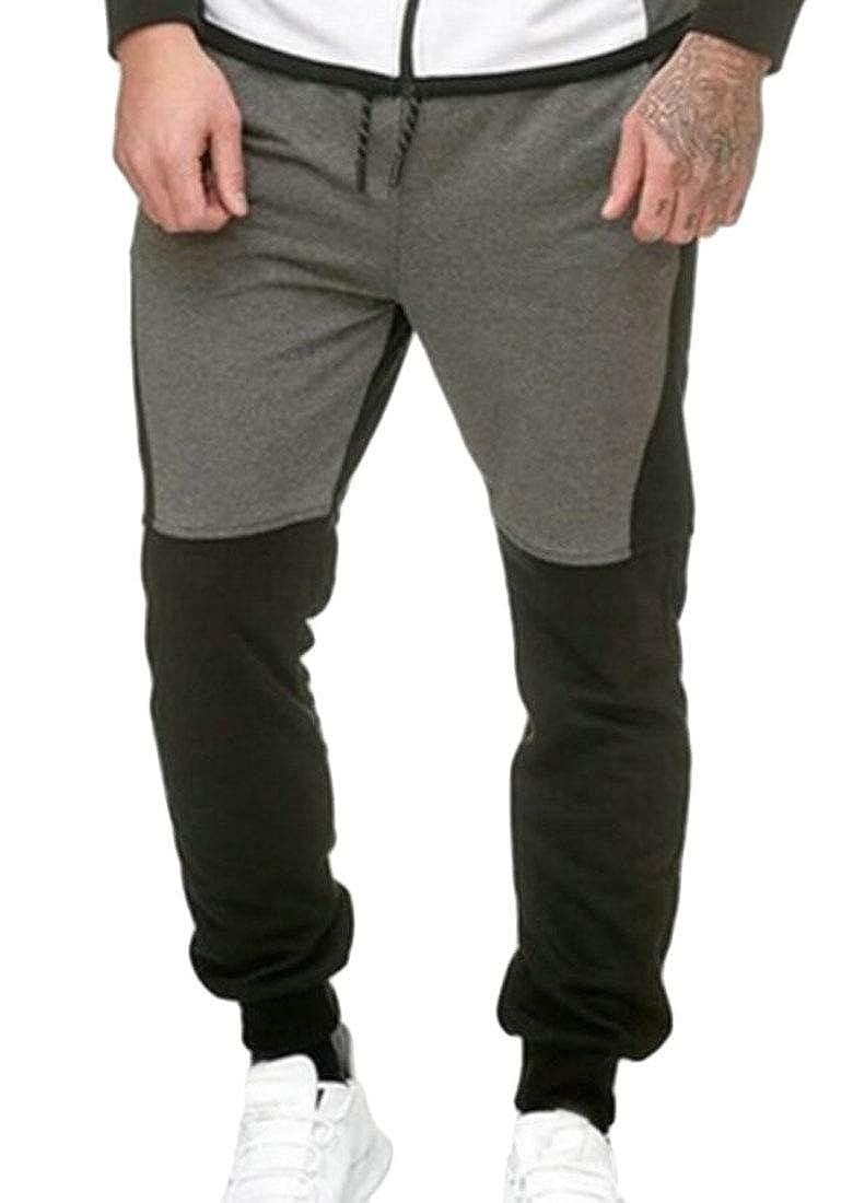 Keaac Men Drawstring Sweatpants Gym Workout Joggers Pants with Pockets