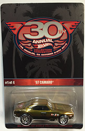 Hot Wheels 30th Annual Collectors Convention '67 Camaro Limited To 2600 Individually Numbered Cars by Hot Wheels (Image #1)