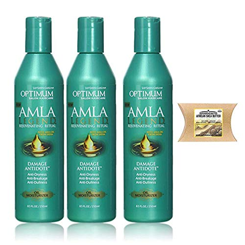 SoftSheen-Carson Optimum Salon Haircare Damage Antidote Oil Moisturizer 8.5 oz 3PC-SheaButter