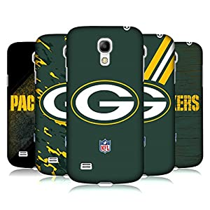 Official NFL Green Bay Packers Logo Hard Back Case for Samsung Galaxy S4 mini I9190 from Head Case Designs