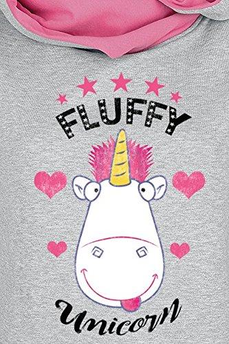 Minions Unicorn chin Femme Sweat My Unicorn capuche Fluffy 6rnv6dwq