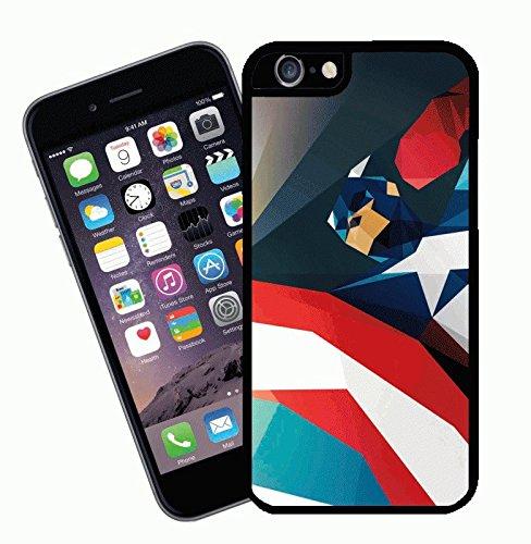 Comic Captain America Coque design, 3–Housse pour Apple iPhone 6–by Eclipse idées cadeau