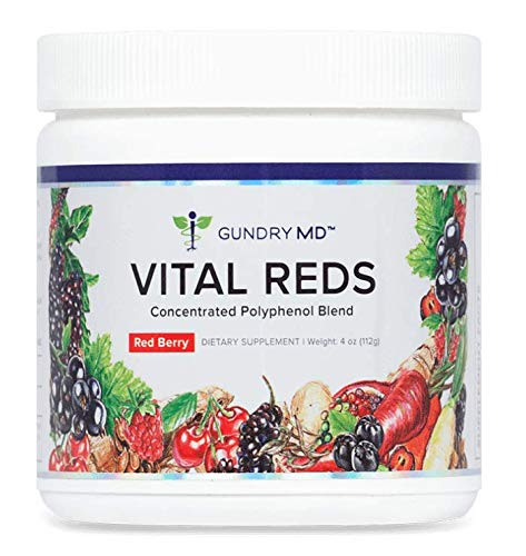 VITAL REDS Dr. Gundry M.D. Polyphenol Blend Dietary Supplement