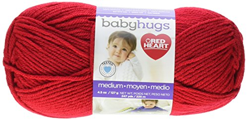 (Red Heart Yarn Red Heart Baby Hugs Medium Yarn Ladybug, )