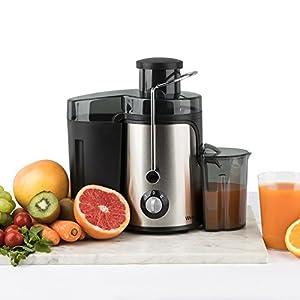 Winkel SX9 Extracteur de jus, Centrifugeuse Fruits et Légumes, 400W,  sans BPA, inox, presser des fruits entiers, juicer