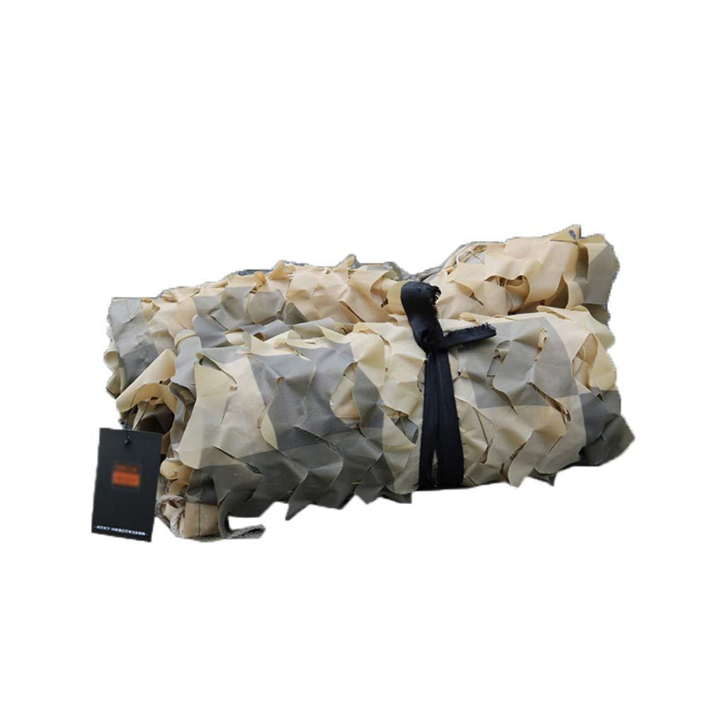 34m Filet de camouflage oxford Filet de camouflage désert, camouflage net couverture montagne parasol décoration net, réseau de voiture de couverture militaire véhicule net (couleur désert) pour les jardi