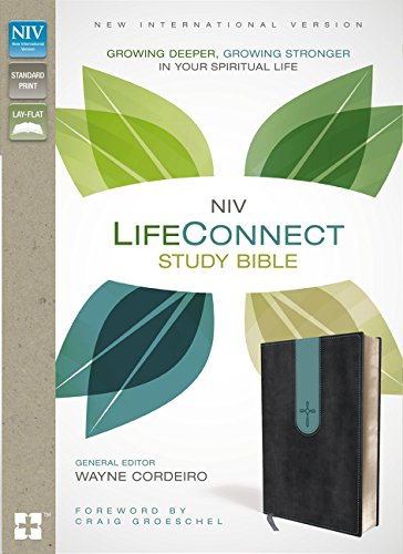 NIV, LifeConnect Study Bible, Leathersoft, Gray/Blue, Red Letter Edition: Growing Deeper, Growing Stronger in Your Spiritual Life pdf epub