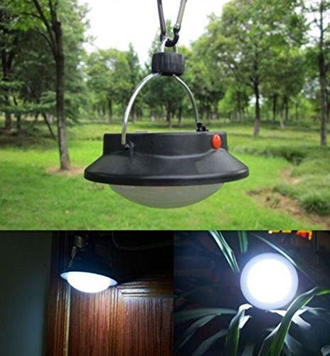 1-Pcs Likely Fashionable 3-Modes 0.5 Watt 60 LEDs Lantern Night Lights Umbrella Bivouac Fishing Energy Saving Tent Bright Lightweight Pocketable Colors Black with - Uk Salt Optics
