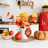 20 Sets Fall Decorations DIY Maple Leaves Picture