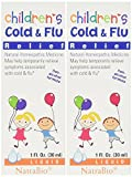 Natrabio Children\s Cold & Flu Relief, 1-ounce (Pack of 2)