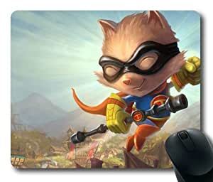 Teemo League of Legends Game Mouse Pad/Mouse Mat Rectangle by ieasycenter