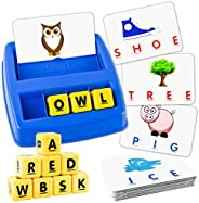 Little Treasures Matching Letter Game, Teaches Word Recognition, Spelling & Increases Memory, 3 Years