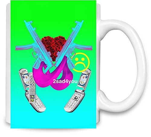 2sad4you Unique Coffee Mug | 11Oz Ceramic Cup| The Best Way To Surprise Everyone On Your Special Day| Custom Mugs By Bang Bangin