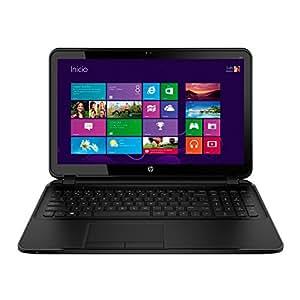 "HP 250 G3 BING J4R74EA - Ordenador portátil de 15.6"" LED (Intel Celeron N2830, RAM de 2 GB, disco duro de 500 GB, Intel HD Graphics, WiFi, Bluetooth, DVD +/- RW, Windows 8.1 ML BING) negro - Teclado QWERTY Español"