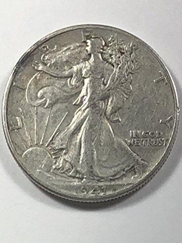 (1941 Walking Liberty Half Dollar 50c Extremely Fine)
