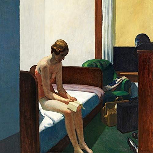 llv Edward Hopper Wandaufkleber Ölgemälde, B(M), 40x50cm
