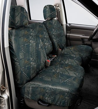 SS8348TTXD Covercraft Seat Saver Second Row True Timber 3D Image (Covercraft True Timber Camo)