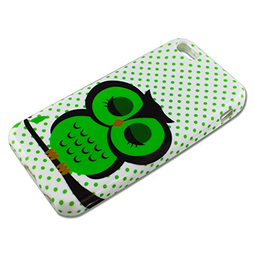 Apple iPhone 5 C coque de protection mignon hibou design Housse en silicone case housse etui Bumper thematys®