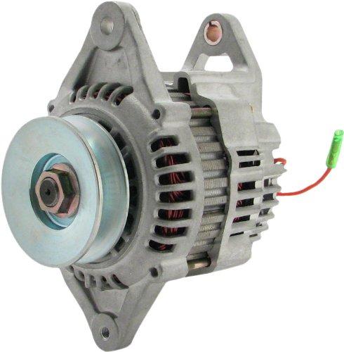 URQS New Premium Alternator fits Komatsu Excavator PC110R-1 S4D106 Komatsu Diesel 2003-2008 Komatsu Loader - Backhoe WB140-2 S4D106 Komatsu Dsl. 1999-2004 ALR0063 LR160-735 LR160-735B YM123900-77210