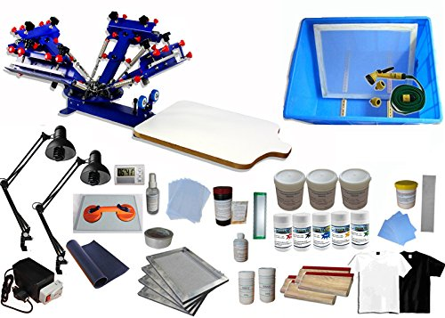 4 Color 1 Station T-shirt Printing Kit B (Shirt Making Machine)