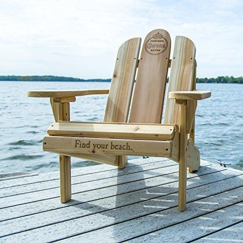 Corona Adirondack Chair, White Cedar Wood