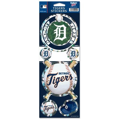 MLB Prismatic Stickers ( Color:Detroit Tigers) by WinCraft