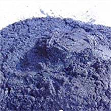 9 Colors Soap Colorant Do It Yourself Natural Mineral Mica Powder Soap Dye 20 g (Blue)
