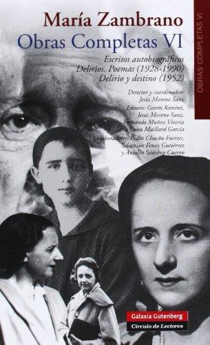 Descargar Libro Obras Completas Vi. María Zambrano María Zambrano
