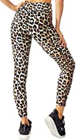 FITTIN Animal Printed Yoga Leggings for Women with Pocket - Pants for Running Sports Fitness Gym Workout
